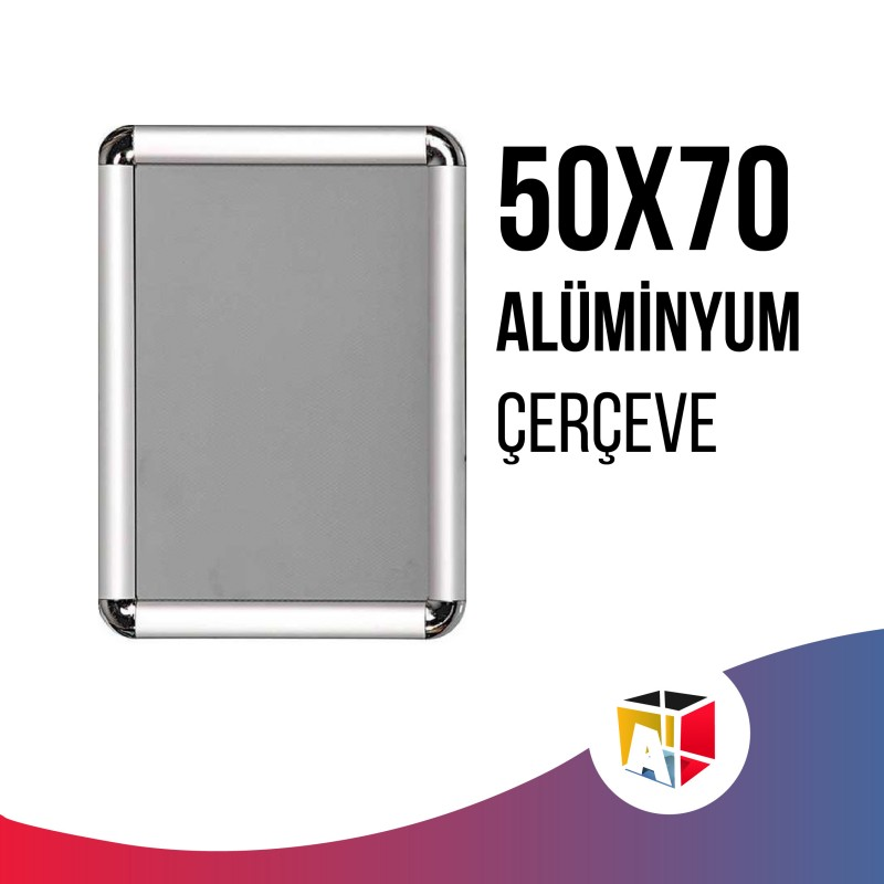 50x70cm Alüminyum Çerçeve