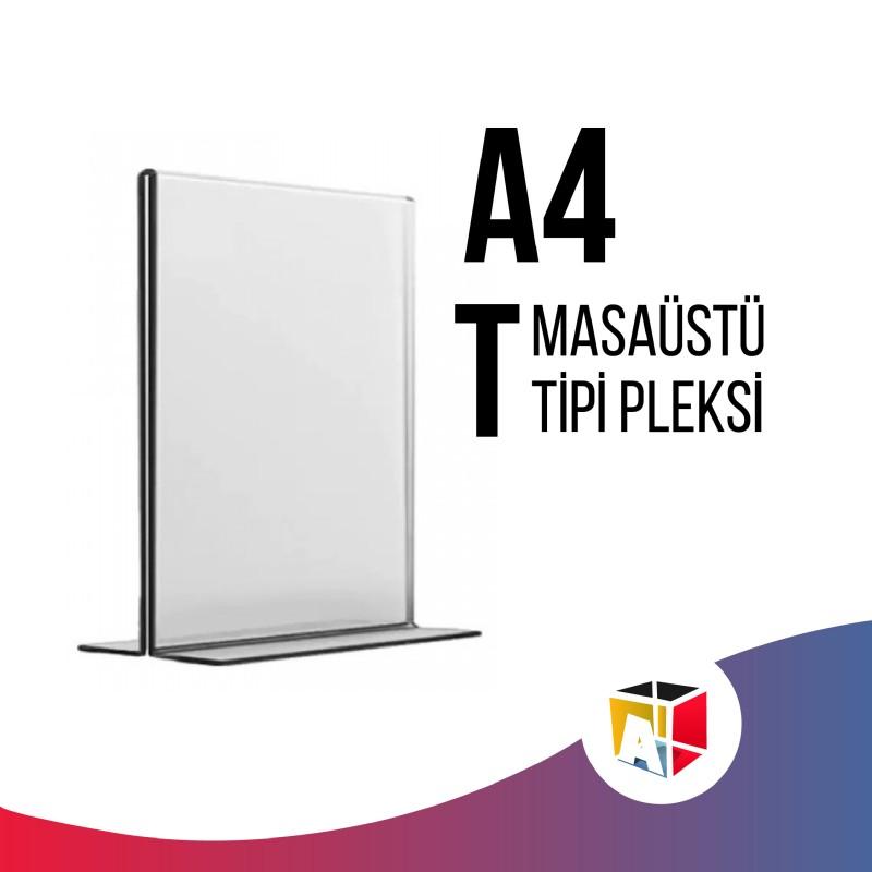 A4 Masaüstü T Tipi Pleksi