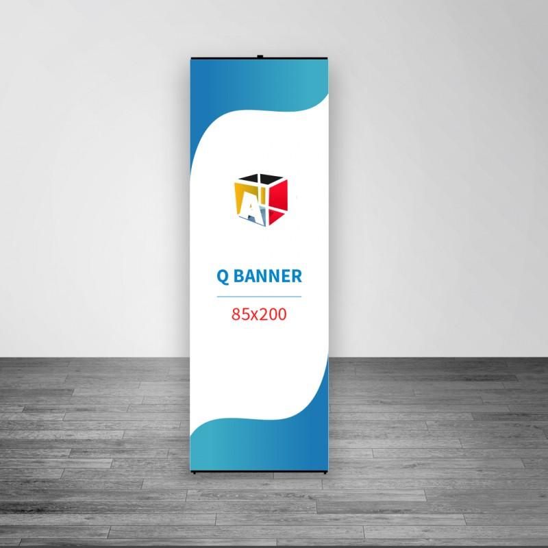 Q Banner 85x200